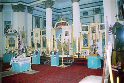 Інтер'єр церкви Святої Трійці у Брукліні