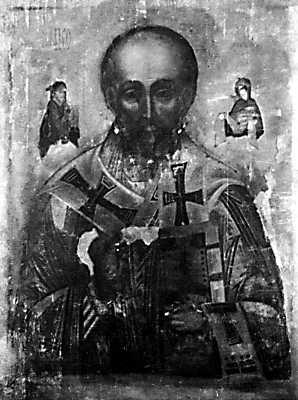 Ікона св.Миколи Мокрого без оклада