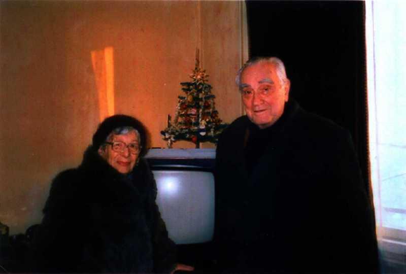 С. С. Потоцький з дружиною